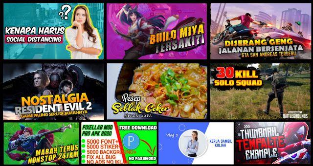Membuat Thumbnail Youtube Hd Di Pixellab Bonus Template Kali Ini Admin Ingin Mendapatkan Beberapa Materi Secara Alami Yang Meru Nostalgia Youtube Pendidikan