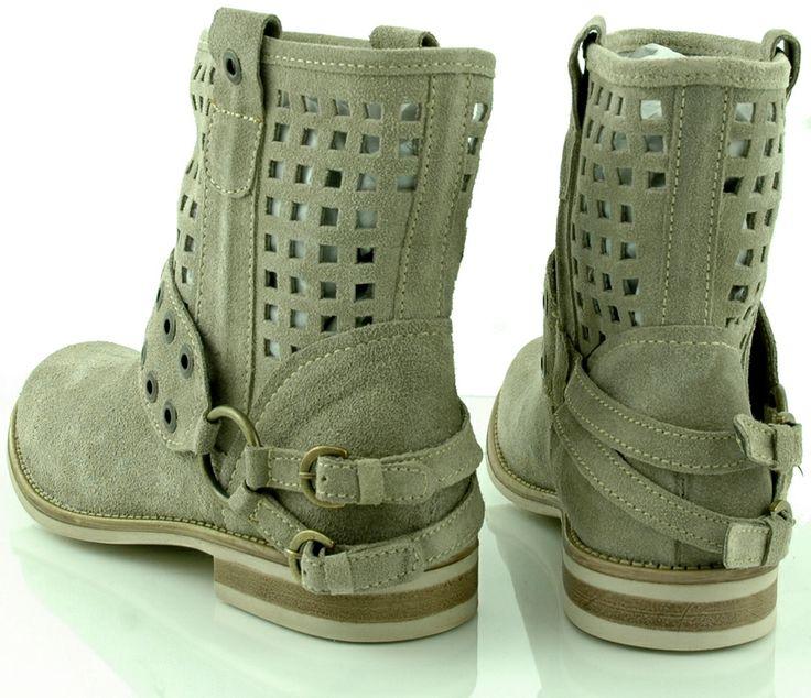Botki damskie Marco Tozzi. Botki są dobrym przykładem butów, które zostały zaprojektowane z myślą o kobiecych potrzebach. http://zebra-buty.pl/model/3949-botki-damskie-marco-tozzi-2041-257
