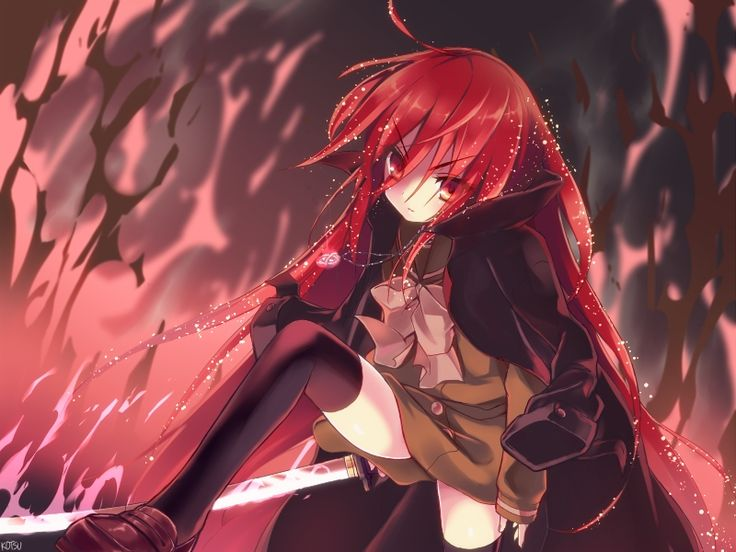 Shakugan no Shana, Wallpaper, Shana