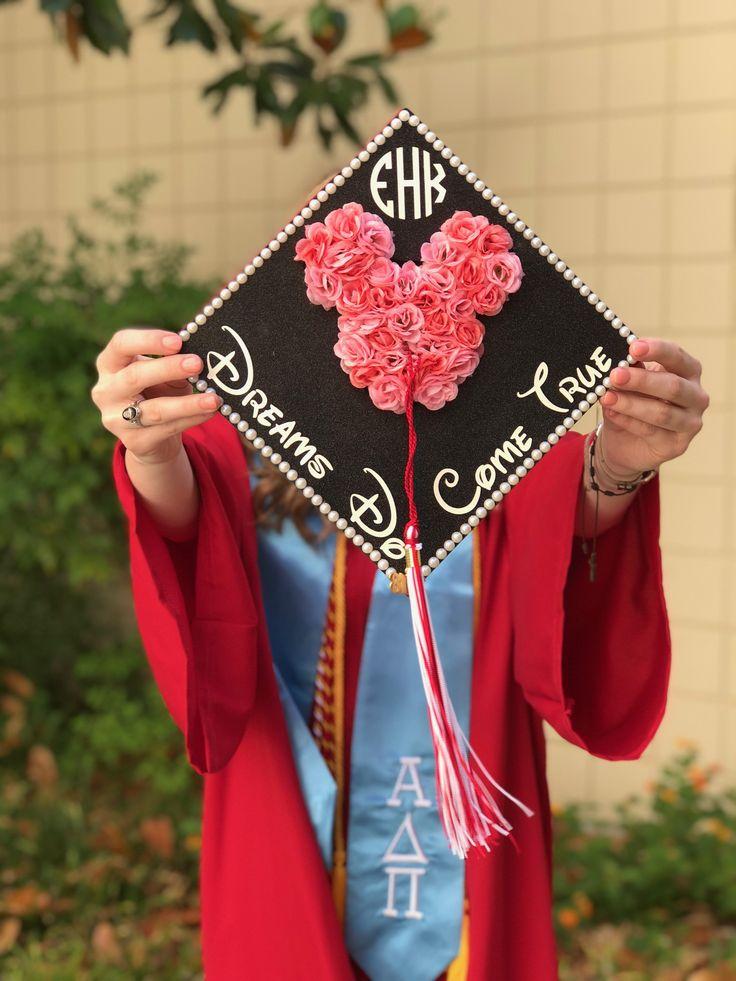 Disney Graduation Cap #Grad #Cap #Graduation #Disney