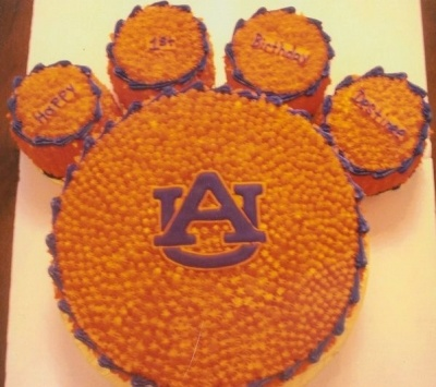 Auburn Cake By cakepanpam on CakeCentral.com