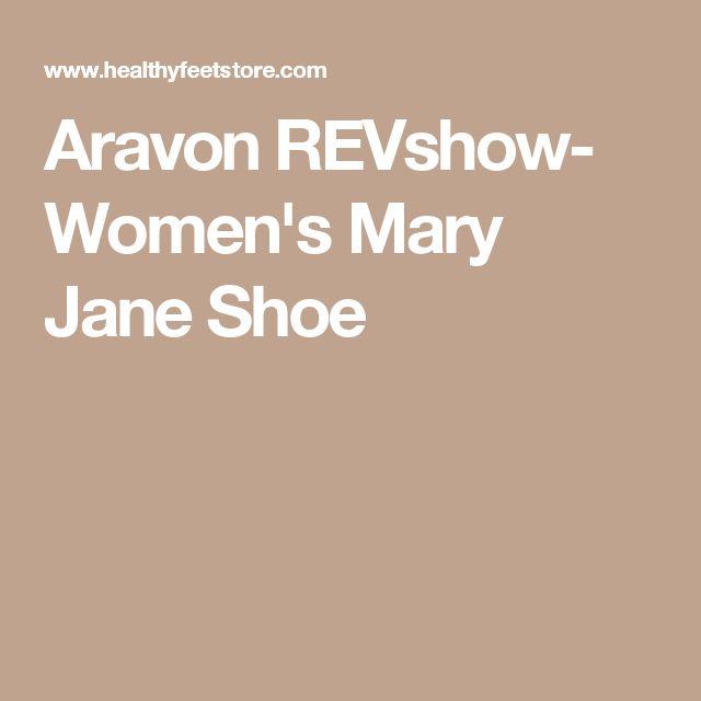 Aravon REVshow- Women's Mary Jane Shoe