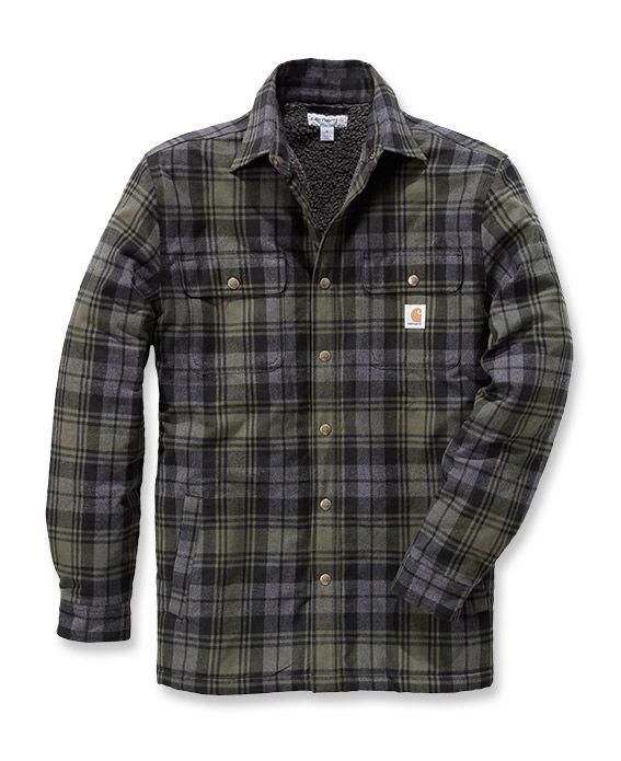 Hubbard Sherpa Lined Jacket – Carhartt workwear Europe