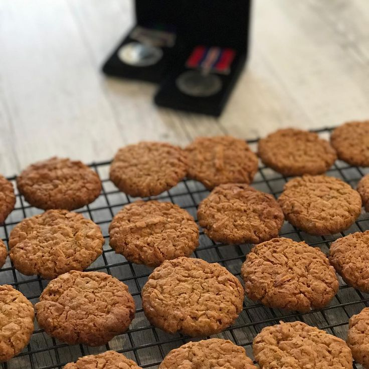 I have two versions of Anzac Biscuits for the Cuisine Companion and this will be the 3rd version.. The updated recipe is in honour of my Dad. In 2015after many decades of my Dad being without his medals, and not even thinking he was entitled to any! I wrote away to the UK and found that he wa