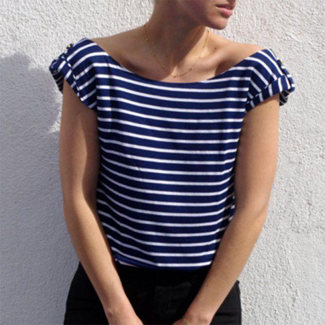 Top Sirocco de Dessine moi un patron / patron de couture pour l'été / diy sewing