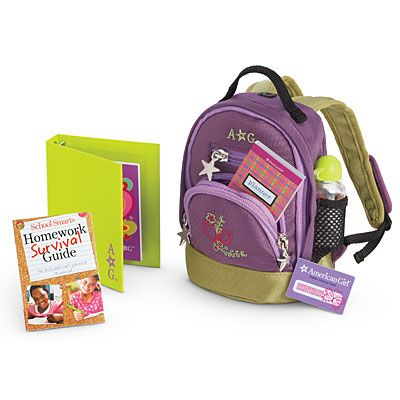 American Girl Doll  Back-to-School Set