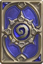 Hearthstone Heroes of Warcraft Blizzard 2014 Card Back