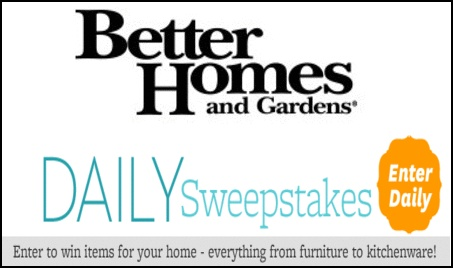 84 best win this images on pinterest giveaways join and Better home and gardens sweepstakes
