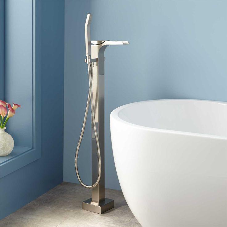 45 best tub filler images on Pinterest   Bathtubs, Soaking tubs and Tubs