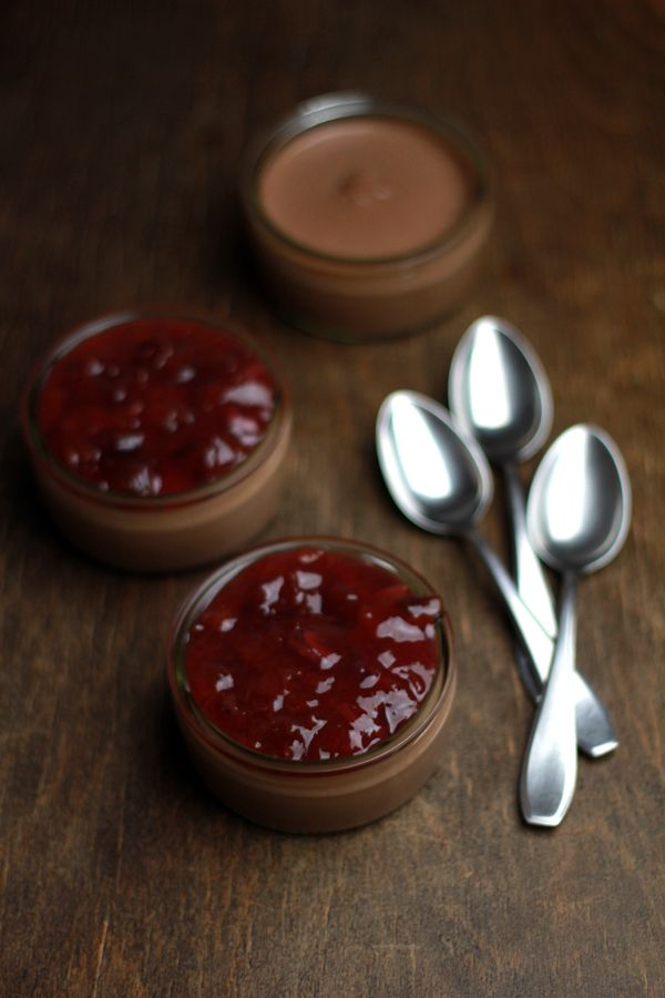 maronimousse mit zwetschken marmelade | h.anna