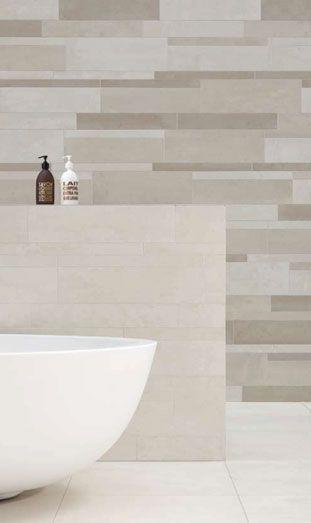 Bathroom with Royal Mosa tiles.