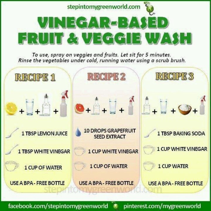 Veggie/fruit wash