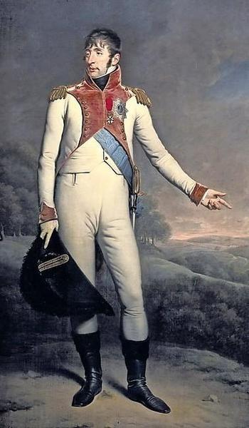 Koning Lodewijk Napoleon, rond 1808 geschilderd door Charles Hodges.