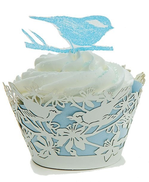 chirpCrafty Bakers, Cupcakes Decor, Amy Animal, Soft Blue, Blue Soft, Cups Cake, Cake Clothing, Powder Blue, Cupe Cake