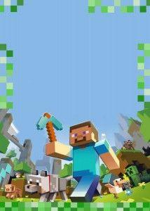 Faça uma festa de aniversário Minecraft em casa, com dicas de decoração simples e criativas. Modelo de convite.