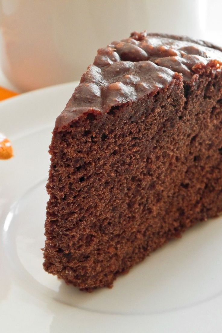 Chocolate Sponge Cake #Dessert #Recipe