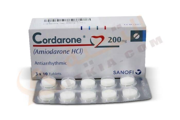 كوردارون Cordarone أقراص لتنظيم ضربات القلب هناك عدد كبير من الأشخاص ي عانون من سوء في تنظيم ضربات القلب وهناك طرق ع Tablet Pill Convenience Store Products