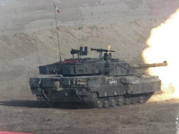 Ariete con kit PSO in Iraq