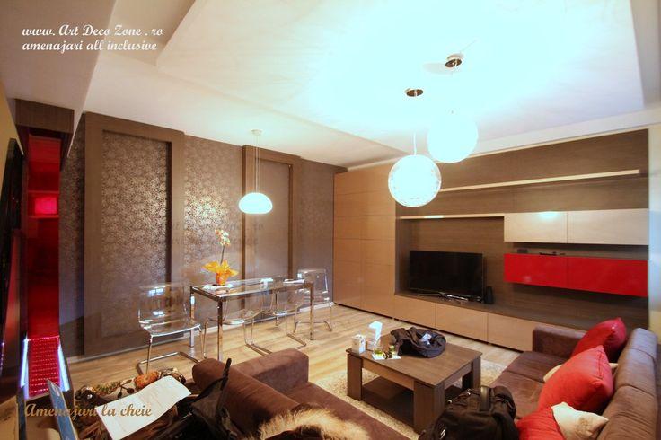 O paleta de culori superba! Design interior duplex la cheie - Brasov - Art Deco Zone & Knox Design - Amenajari interioare Bucuresti. www.artdecozone.ro, #amenajariinterioare, #decorculoricalde, #decorliving