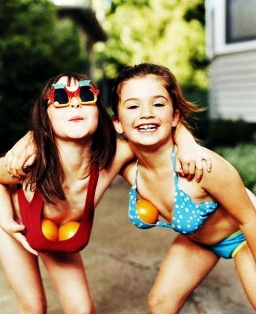 adorable.Silly Girls, Little Girls, Summer Day, Best Friends, Childhood Memories, Water Balloons, Bestfriends, Growing Up, Kids