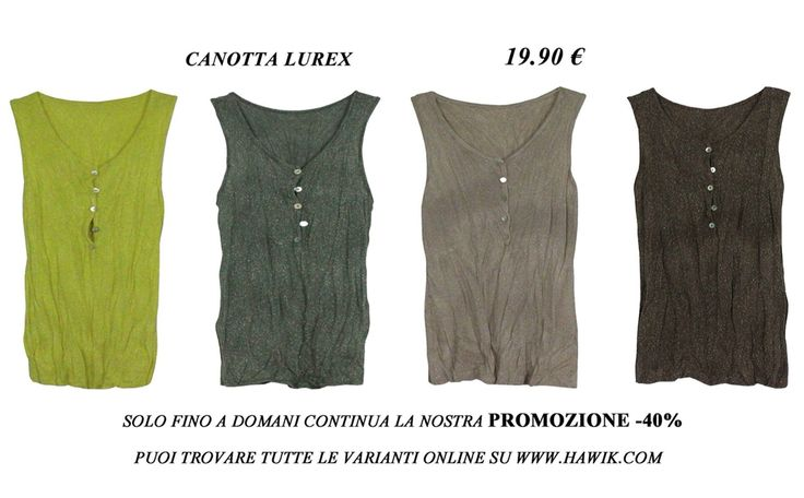 Until tomorrow there is our promotion -40% off. www.hawik.com