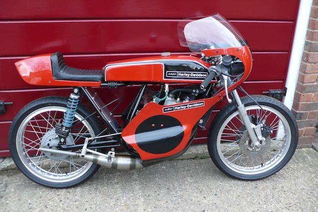 c.1974 AMF Harley-Davidson 125cc RR125 Grand Prix Racing Motorcycle Frame no. 180092 Engine no. A172