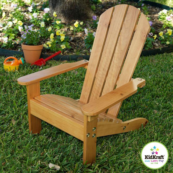 KidKraft Adirondack Chair Honey | Overstock.com Shopping   The Best Prices  On KidKraft Kids Part 62
