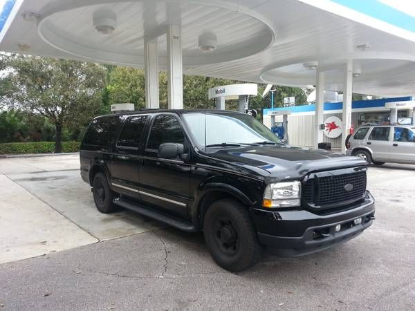 Used 2003 Ford Excursion for Sale ($16,500) at West Palm Beach, FL