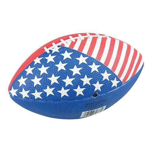 11-inch Stars & Stripes Regulation Football  This patriotic football is regulation size for a real gridiron showdown. Since football is America s national obsession, it s an obvious choice for July 4th festivities. 1 per order.