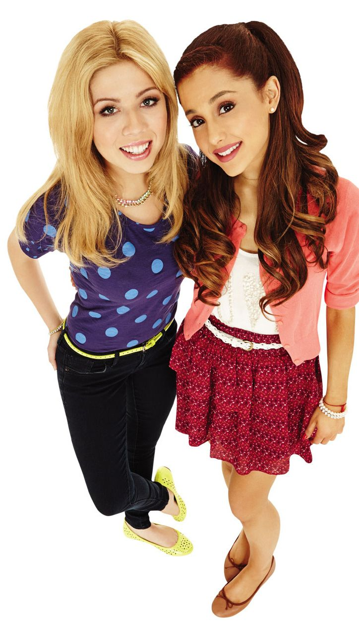 Ariana Grande and jennet mcurady sam and cat