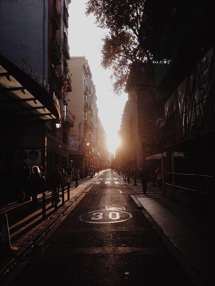 Raval, Barcelona  https://society6.com/product/raval-at-sunset54161_print#s6-6079206p4a1v45