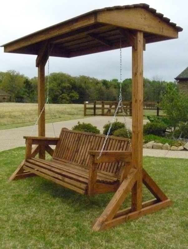 Covered Swing Home Decor That I Love In 2018 Yard Backyard Swings Outdoor Wooden