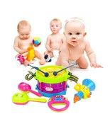 5 Pcs Set Educational Kids Musical Instruments Drum Children Toy Baby Ki... - $11.88