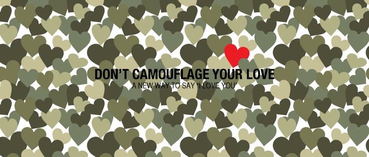 love always stands out in a crowd ♥  Hollo
