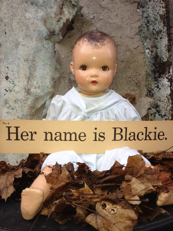 Vintage Horsman Doll/Composition Doll/Creepy Baby/Macabre Decor/Spooky Decor/Shabby Chic Decor/Mixed Media/Altered Art