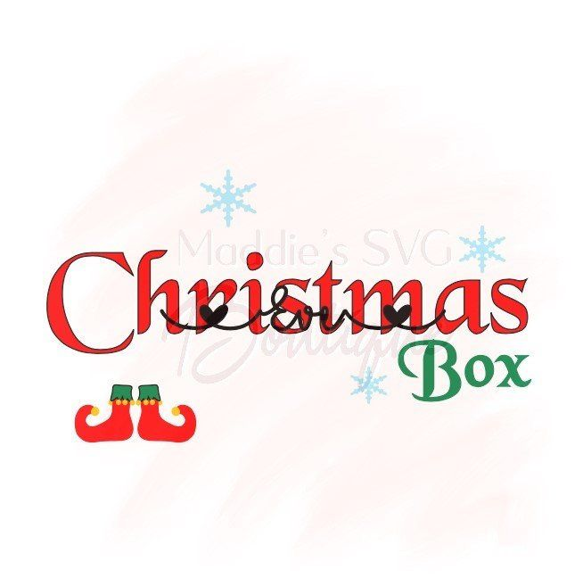 Christmas Eve Box Sticker Personalised Party Decal Gift Vinyl Stars 8
