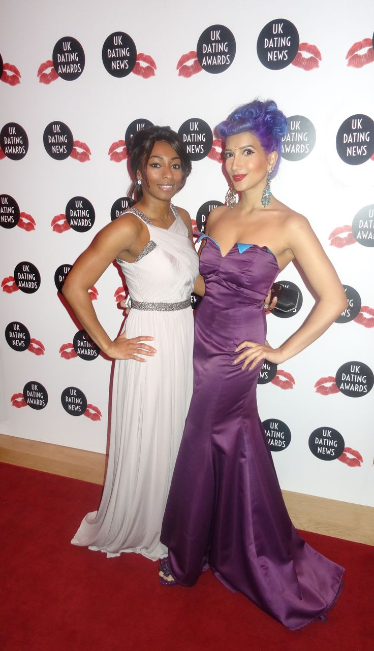 On the red carpet for the UK Dating Awards with Queek'd CEO, Elisa Mclean: http://www.queekd.com/