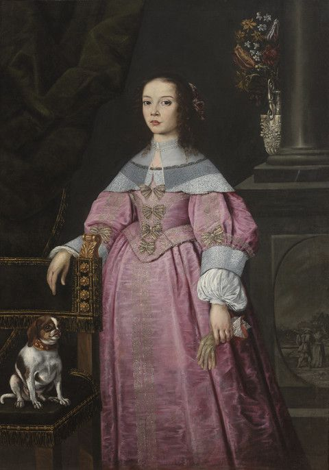 Portrait of a Young Girl Unknown artist, Dutch; Flemish Portrait of a Young Girl, ca. 1660 Oil on canvas 24.443