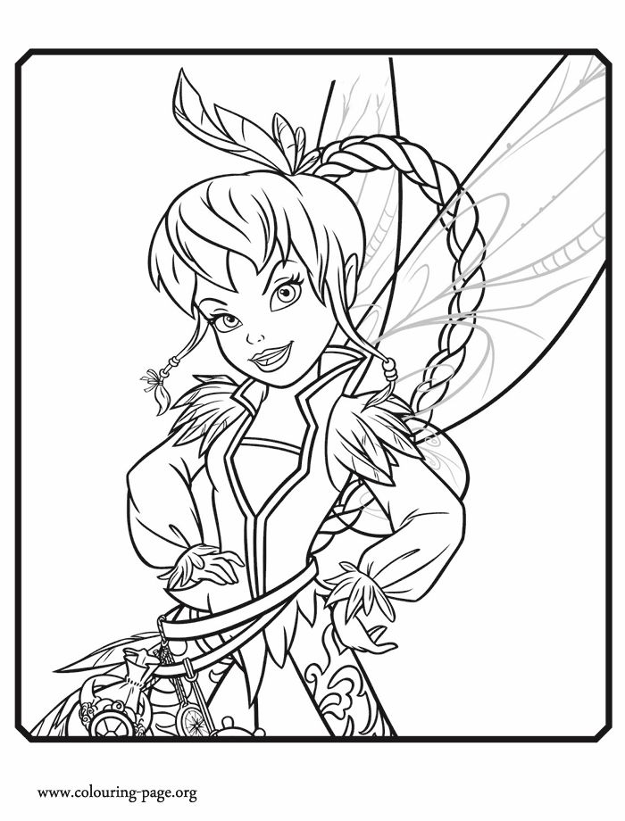 17 best coloring pages images on pinterest - Disney Fairy Vidia Coloring Pages