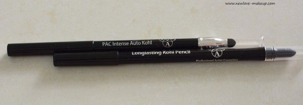 PAC Cosmetics Eyeliners & Kohls Review, Swatches