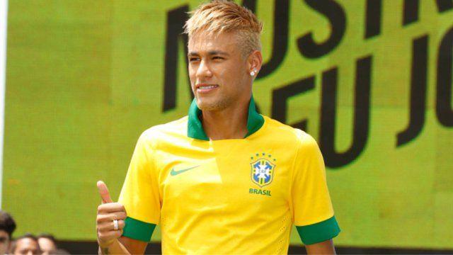 Neymar da Silva Santos Júnior #Soccer #Hair