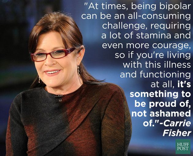 Carrie Fisher speaks out against stigma when it comes to mental illness