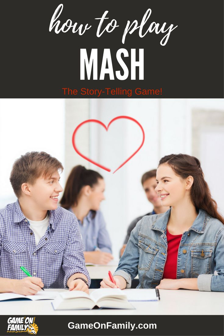 Learn how to play MASH via our MASH game tutorial. Review the MASH rules and find your next fun game at www.GameOnFamily.com. Game on! #mash #games #kids