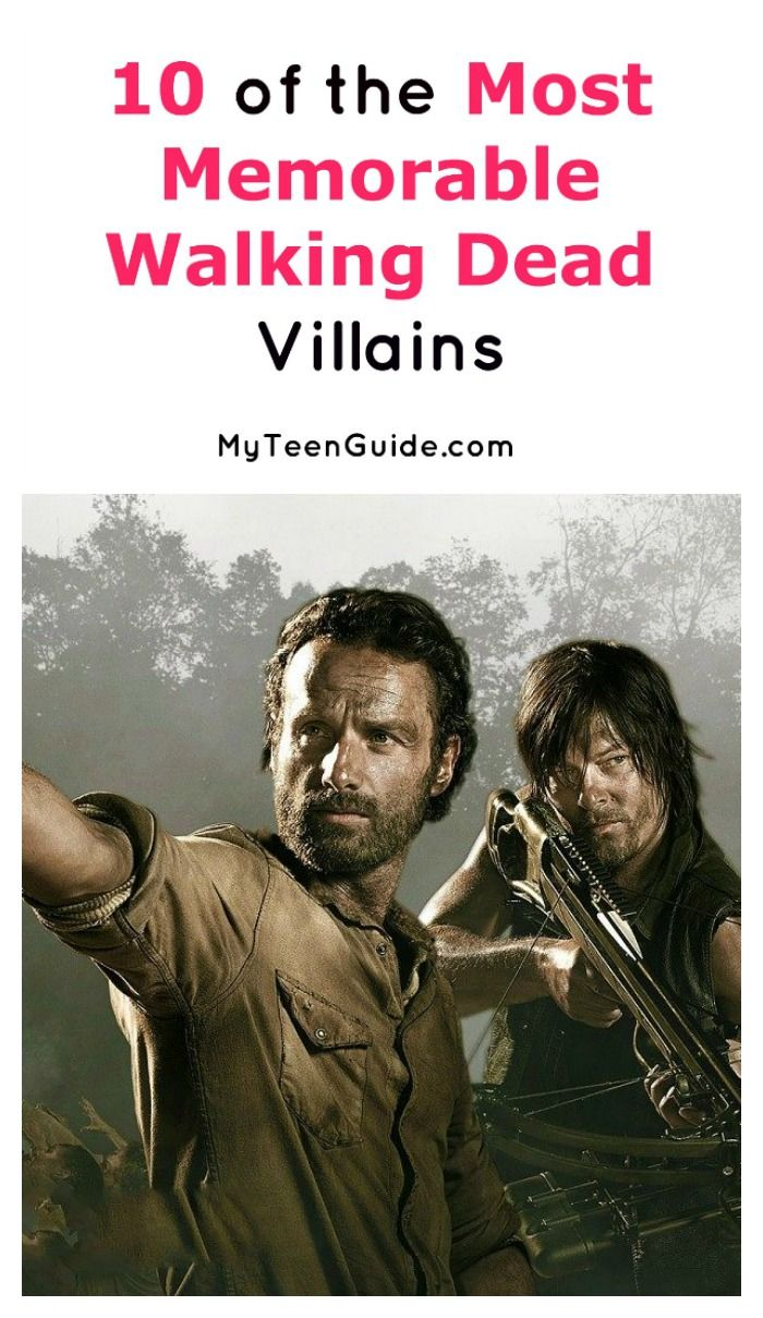 These 10 big bads are definitely the most memorable Walking Dead villains! Check them out and weigh in with your number one!
