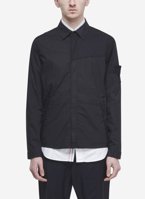 4dc6349ad60e Stone Island Ghost Piece Overshirt In Navy | st | Stone island ...