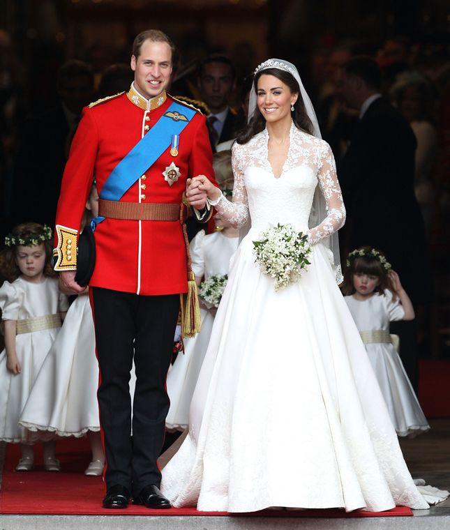 Кейт Миддлтон и принц Уильям отмечают годовщину свадьбы 2017г