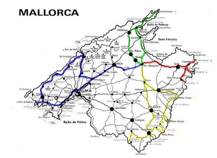 5 verschiedene Ausflugstouren auf Mallorca, dazu die passenden Finca für bis zu 8 Personen mit Pool in Santa Margalida bei Can Picafort, ganz in der Nähe der Bucht von Alcudia im Norden Mallorcas ... Finca bzw. Ferienhaus auf dem Lande ...