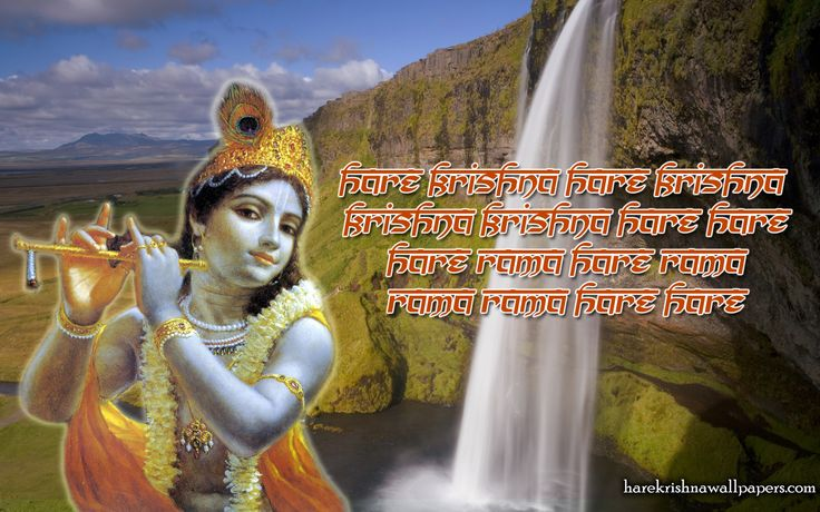 To view Devotees wallpapers in difference sizes visit - http://harekrishnawallpapers.com/chant-hare-krishna-mahamantra-artist-wallpaper-002/