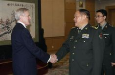 Nostradamus, Mabus, 3rd Antichrist and the Meeting in China - Warning, this is a 2-pronged article. One newsworthy aspect is that US Navy Secretary Ray Mabus was in Beijing last week meeting with the Communist Chinese Military. The other interesting and related item is that famed future seer Nostradamus gave us the name of the 3rd and final anti-Christ, and his name is Mabus. With reported discussions touching on the two nations jointly ruling the world, Nostradamus' quatrain comes to mind.