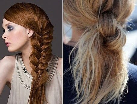 Acconciature semplici per capelli lunghi e mossi